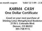 Karma Cash