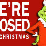 Mon Dec 25, 2017 - CLOSED FOR CHRISTMAS DAY