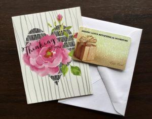 Shining Lotus Gift Card - available at any amount