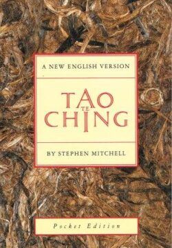 A photo of pocket sized Tao Te Ching